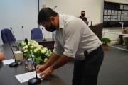 Prefeito, vice-prefeito e vereadores eleitos são empossados em Nova Santa Rita