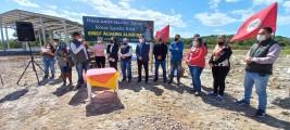 Vereadores prestigiam inicio das obras da EMEF Álvaro Almeida