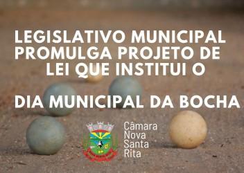 Aprovado por unanimidade na Câmara projeto que institui o Dia Municipal da Bocha