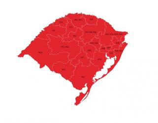 Nova Santa Rita segue em bandeira vermelha pela 3ª semana consecutiva