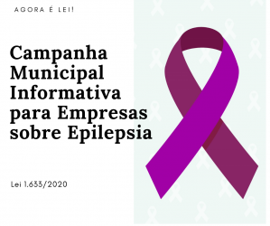 Nova Lei institui campanha municipal sobre epilepsia
