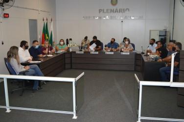 Câmara realiza 1ª reunião oficial de 2021 com a presença de secretários municipais