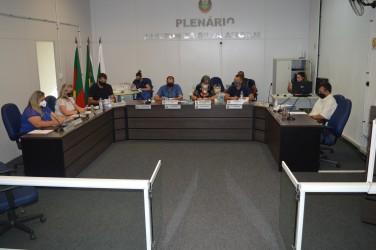 Primeira Sessão Ordinária de 2021 é realizada na Câmara