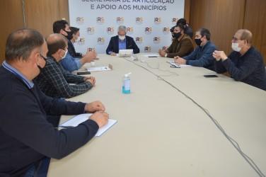 Legislativo participa de nova reunião sobre o transporte público intermunicipal