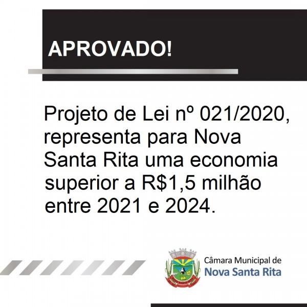 Aprovado Projeto de Lei nº 021/2020 que dispõe sobre redução dos vencimentos de secretários municipais