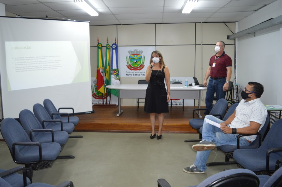 Audiência Pública apresentou avaliação das Metas Fiscais do 3º Quadrimestre de 2020